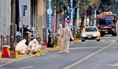 ATENAS, GRECIA: BOMBA A LAS AFUERAS DE UN RECINTO DE LA POLICÍA DE DAFNI EN MEMORIA DE LAMBROS FOUNDAS, MIEMBRO DE LA LUCHA REVOLUCIONARIA