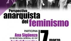 """ESPAÑA: CONFERENCIA """"PERSPECTIVA ANARQUISTA DEL FEMINISMO"""""""