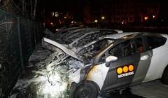 ALEMANIA: INCENDIADOS 6 COCHES DE LA EMPRESA SECURITAS EN BERLÍN