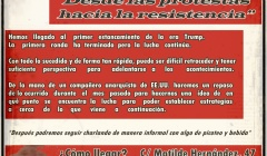 ESPAÑA: PASEMOS A LA OFENSIVA, DESDE LAS PROTESTAS HACIA LA RESISTENCIA