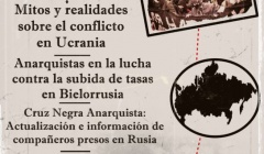 """ESPAÑA: """"PALABRAS DESDE RUSIA"""" PRESENTACIÓN DE LA REVISTA ANARQUISTA """"AVTONOM"""""""