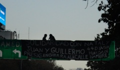 BUENOS AIRES, ARGENTINA: SOLIDARIDAD CON JUAN, NATALY Y ENRIQUE