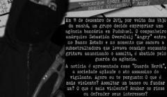 SEBASTIÁN OVERSLUIJ PRESENTE! EN CADA ACCIÓN OFENSIVA CONTRA EL PODER