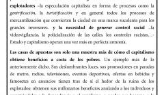 VALLECAS, ESPAÑA: CAMPAÑA CONTRA LAS CASAS DE APUESTAS, LA RELIGIÓN Y EL PATRIOTISMO