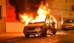 BERLÍN, ALEMANIA: INCENDIADO EL VEHÍCULO PERSONAL DE UN POLICÍA
