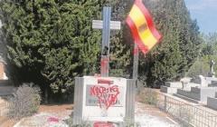 ESPAÑA: VANDALIZADO EL MONUMENTO A LA DIVISIÓN AZUL EN EL CEMENTERIO DE LA ALMUDENA
