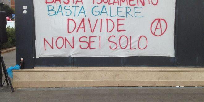 ITALIA: EL ANARQUISTA SARDO DAVIDE DELOGU FUE NUEVAMENTE PUESTO BAJO EL RÉGIMEN 14 BIS.