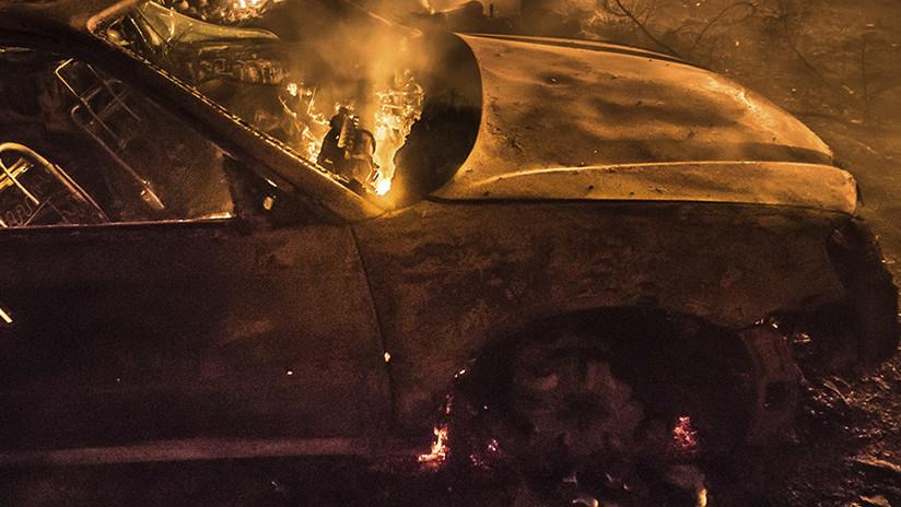 AMIENS, FRANCIA: BÚSQUEDAS DE UNA INVESTIGACIÓN SOBRE EL INCENDIO PROVOCADO CONTRA AUTOMÓVILES SPIP