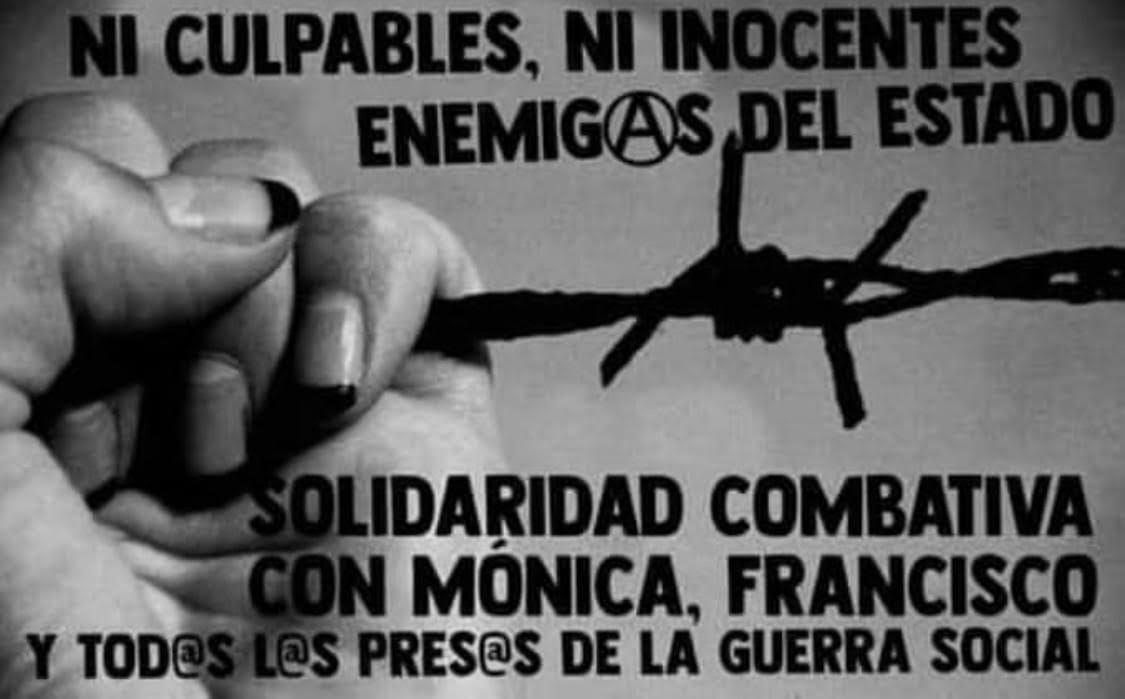 CHILE: PALABRAS DE MÓNICA CABALLERO DESDE LA CÁRCEL DE SAN MIGUEL